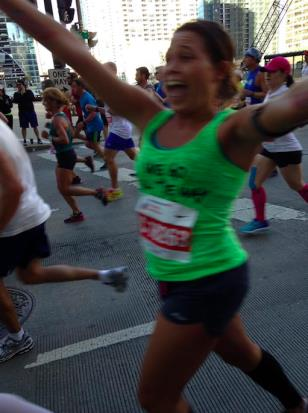 Ms. Kravish ran her second marathon this October!