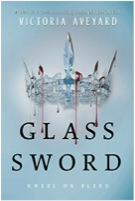 Glass Sword by Victoria Aveyard This is the second book in the Red Queen series. Red Queen is about the common folk who have red blood and the royalty with silver blood. The people with red blood are not supposed to have powers but somehow Mare Barrow has them. And this is the continuation of that story. This book will be released on February 9th, 2016.