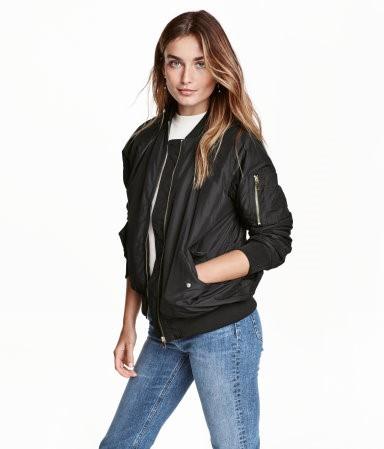 H&M Bomber Jacket $49.99