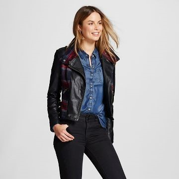 Feaux Leather Moto Jacket - Target $39.99