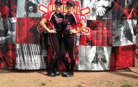 Best friends and pitchers take on their last softball season together