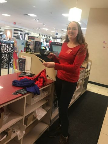 Abby Malone balances school and her job at JC Penney