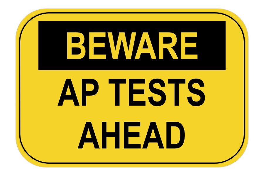 AP test ahead