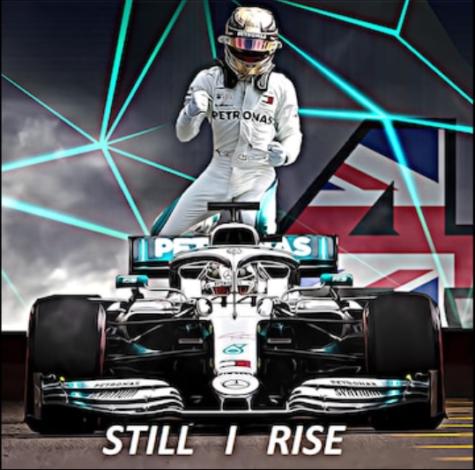 Lewis Hamilton embodies the phrase Still I Rise